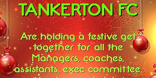 Tankerton Coaches Xmas Party