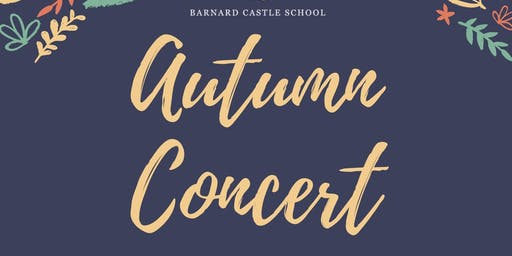 Barnard Castle School Autumn Concert