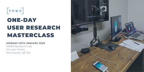 One-Day User Research Masterclass tickets