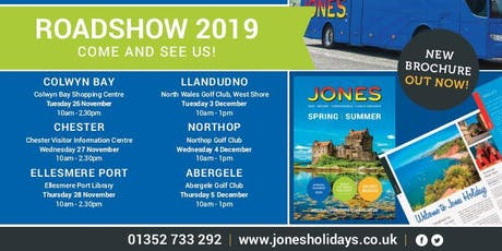 Jones Holidays Roadshow tickets