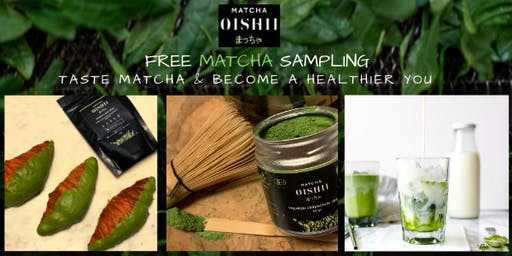 Become a Healthier You! Taste Matcha and Learn its Amazing Health Benefits
