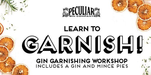 Christmas Gin Garnishing Workshop