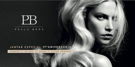 Jantar de aniversário Paula Brás Hair Studio tickets
