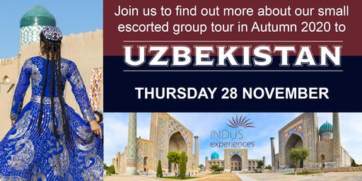 Find out about Uzbekistan - Meet the Experts