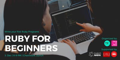 Ruby for Beginners - write your first lines of code