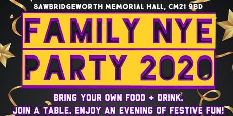 Family NYE Party 2020 tickets