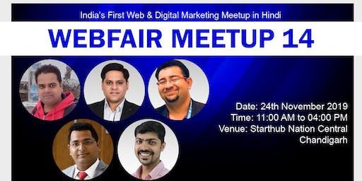 WebFair Meetup 14 (Chandigarh)