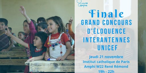 Concours d'éloquence inter-antennes UNICEF