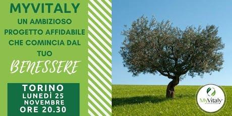 MYVITALY - MEETING TORINO - 25 NOVEMBRE biglietti