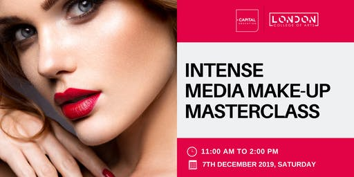 Intense Media Make-Up Masterclass - LCA Capital Make-Up School