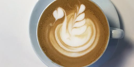 Learn How to Pour Latte Art by Swan Song Coffee