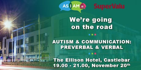 Autism & Communication: Preverbal and Verbal tickets