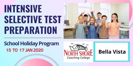 Selective Test Intensive Preparation - Holiday Program tickets