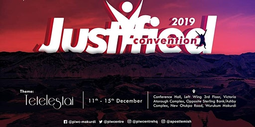 The JUSTIFIED CONVENTION 2019