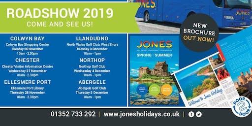 Jones Holidays Roadshow