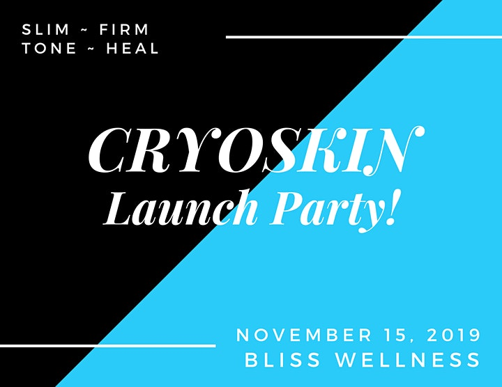 Cryoskin Launch Party! image