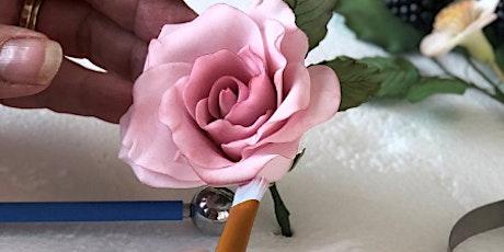 Sugar Craft Roses Workshop tickets