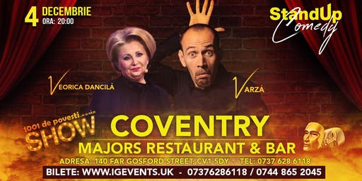 Coventry Stand Up Comedy -  Varza si  Veorica Dancila Show