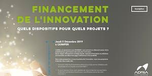 FINANCEMENT DE L'INNOVATION : Quels dispositifs pour...