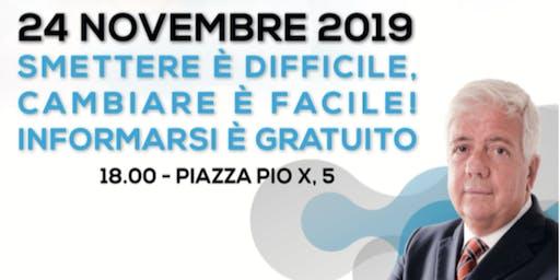 Puff Store Treviso  | Conferenza con il Dr. Prof. Fabio Beatrice
