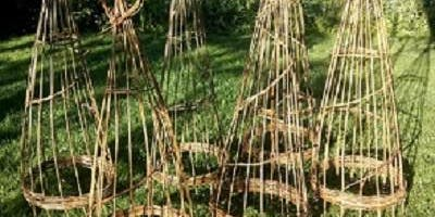 Obelisk Willow Weaving