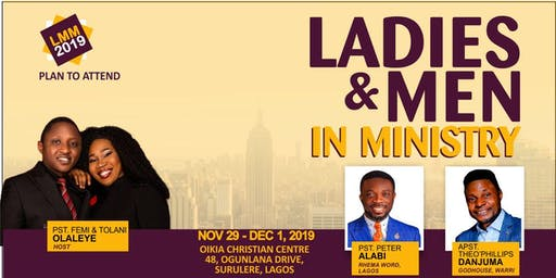 Ladies and Men in Ministry