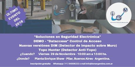 DEMO  DATACCESS- Sistema de Control de acceso entradas