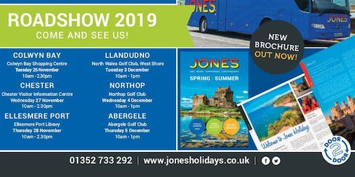 Jones Holidays Roadshow