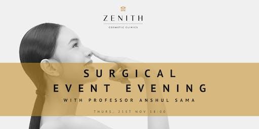 A Surgical Evening with Professor Sama