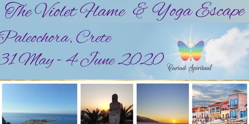 The Violet Flame Immersion & Yoga Escape