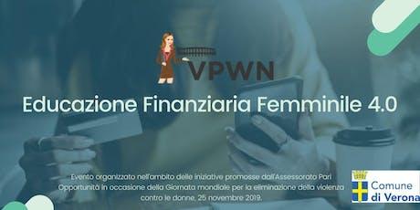 Educazione Finanziaria Femminile 4.0 biglietti