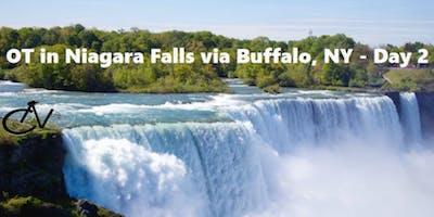 OT in Niagara Falls via Buffalo, NY - Day 2 of Overnight Tour - 29 miles