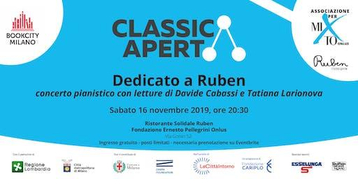 DEDICATO A RUBEN ClassicAperta al Ristorante solidale RUBEN per Book City