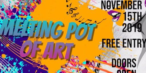 Melting Pot Of Art With Host Kokayeena