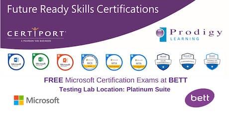 Microsoft #CERTatBETT Testing Lab 2020 - Friday 24th January tickets
