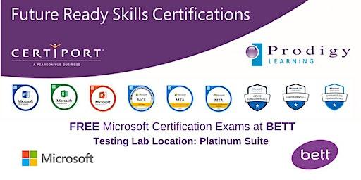 Microsoft #CERTatBETT Testing Lab 2020 - Friday 24th January