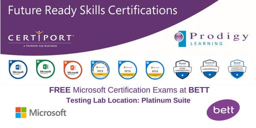 Microsoft #CERTatBETT Testing Lab 2020 - Saturday 25th January