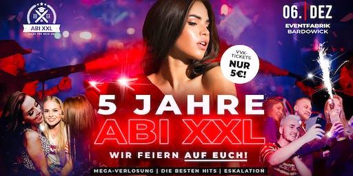 5 JAHRE ABI XXL - Wir feiern Geburtstag & Nikolaus - 06.12. - Eventfabrik