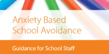 Stockport Anxiety and School Avoidance  training, December 2nd and 3rd