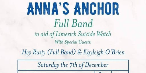 Anna's Anchor - Christmas Charity Gig W/ Hey Rusty & Kayleigh O'Brien