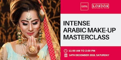 Intense Arabic Make-Up Masterclass - LCA Capital Make-Up School tickets