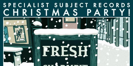 Specialist Subject Records Christmas Party tickets