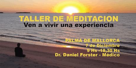 TALLER DE MEDITACION-PALMA de MALLORCA TE ESPERO entradas