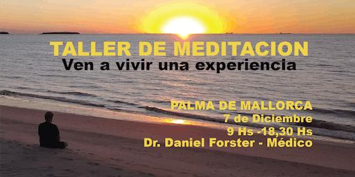 TALLER DE MEDITACION-        PALMA de MALLORCA TE ESPERO