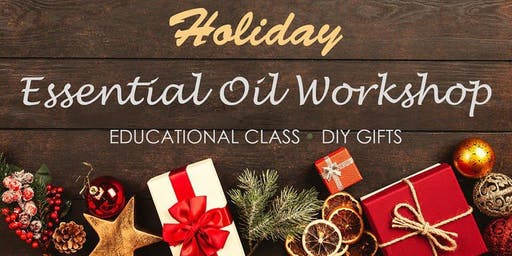 Holiday Make n Take with essential oils
