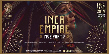 ICHU Terraza - Inca Empire New Year's Eve Party tickets