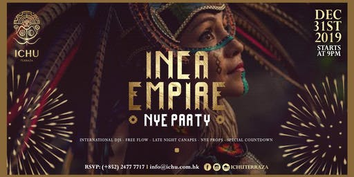 ICHU Terraza - Inca Empire New Year's Eve Party