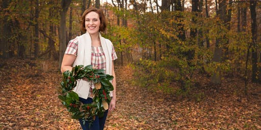 Fairytale Farmette presents Magnolia Wreath Building at Honey's Harvest Farm