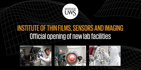 Opening of the Institute of Thin Films, Sensors and Imaging's New Labs tickets
