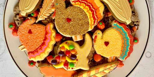 Thanksgiving Eve Cookie Platter Workshop for Kids & Adults